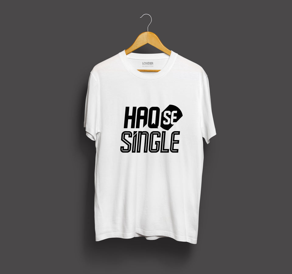 Haq Se Single - Official Zakir Khan T-Shirt