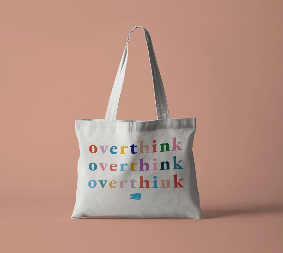 The Overthink Tank Tote Bag | Official Surbhi Bagga Merch