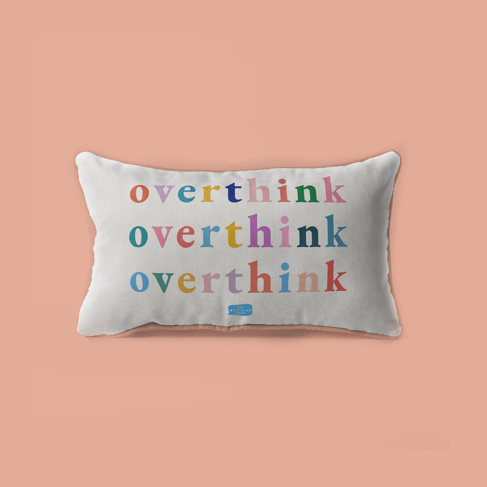 The Overthink Tank Pillow | Official Surbhi Bagga Merch