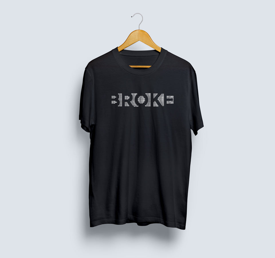 Broke - Official Abish Mathew T-Shirt - Unisex