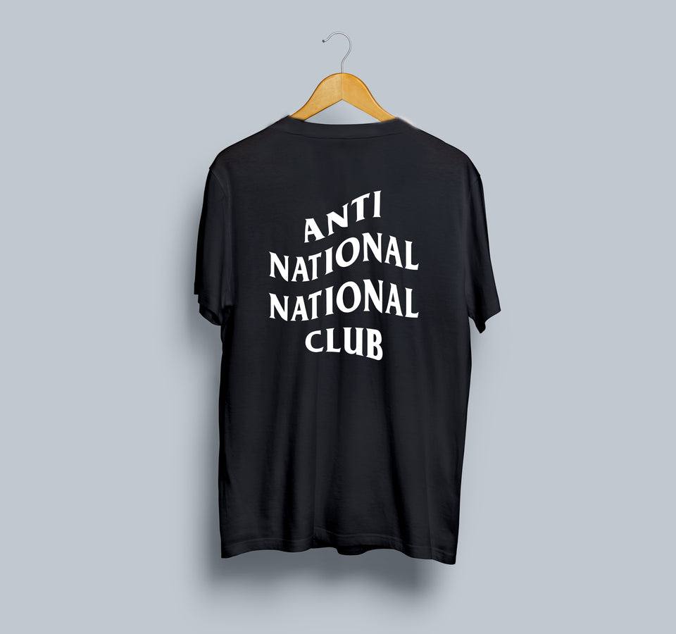 Anti National National Club X Kunal Kamra | Limited Edition T-Shirt
