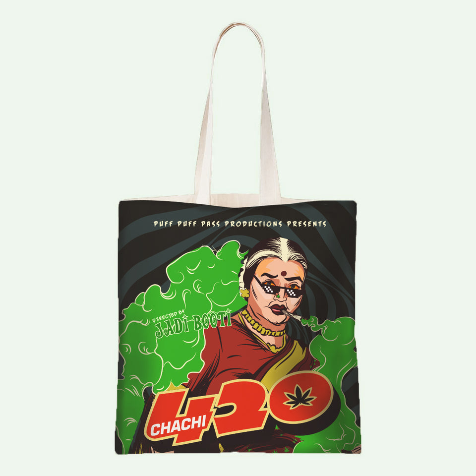 Chachi 420 - Official Varun Thakur Tote Bag