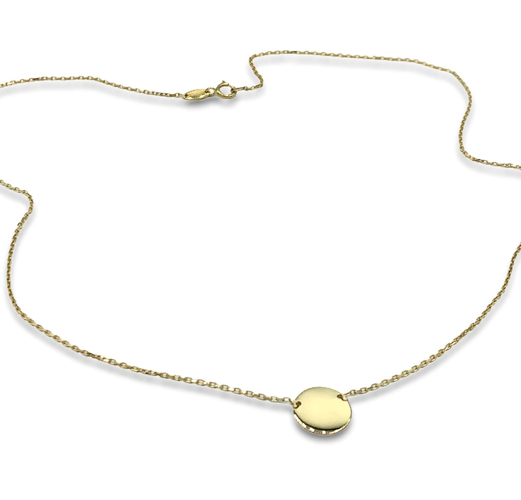 Kathryn Disc Necklace