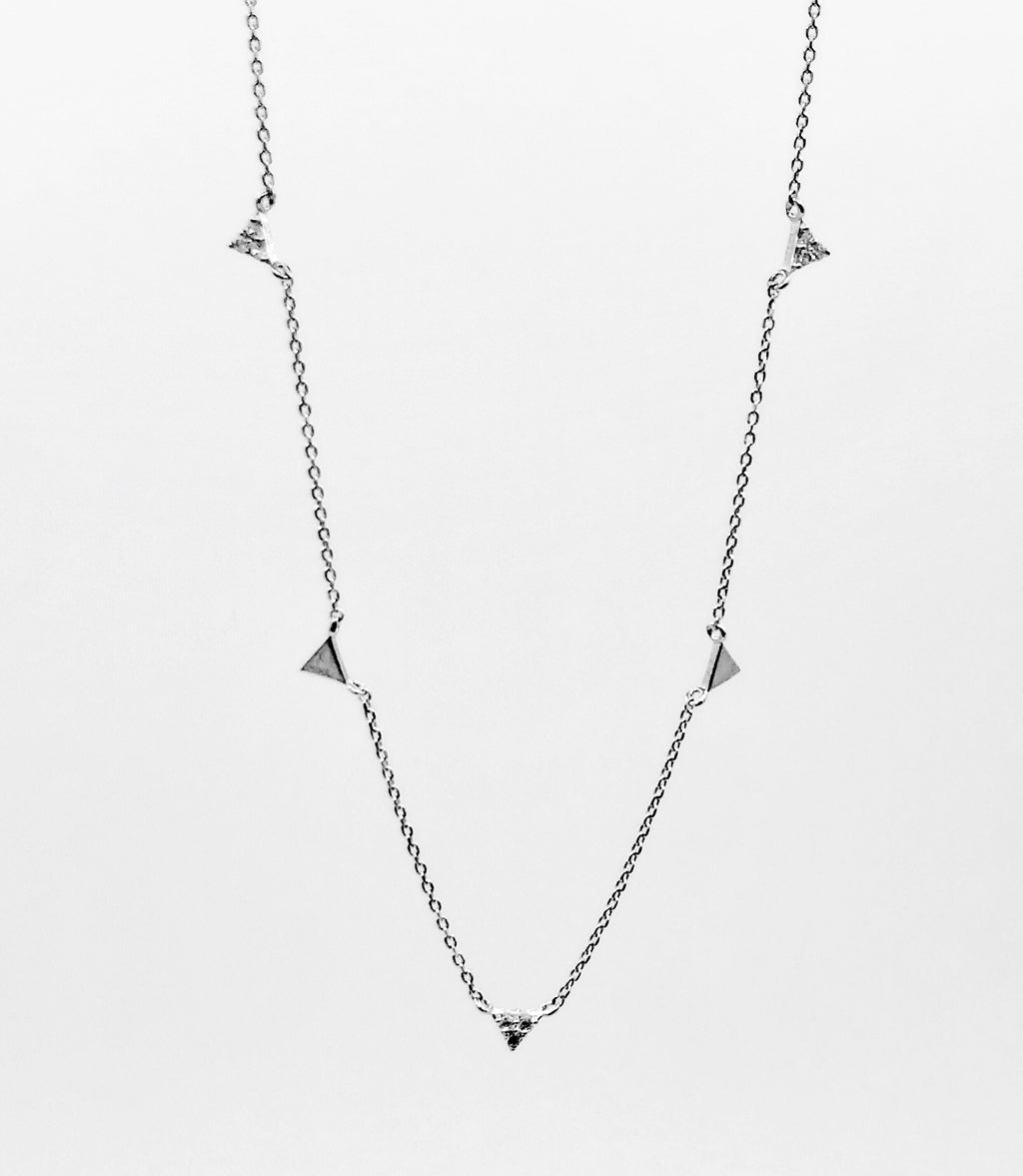Megan Triangle Necklace
