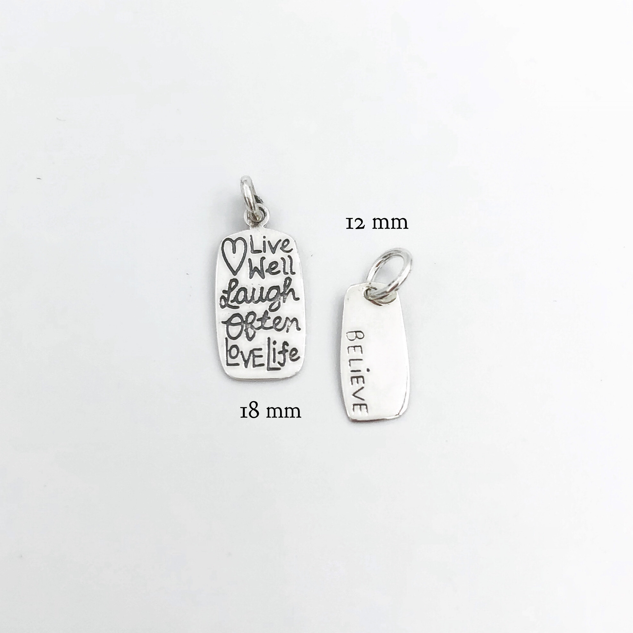 Charms with Quotes