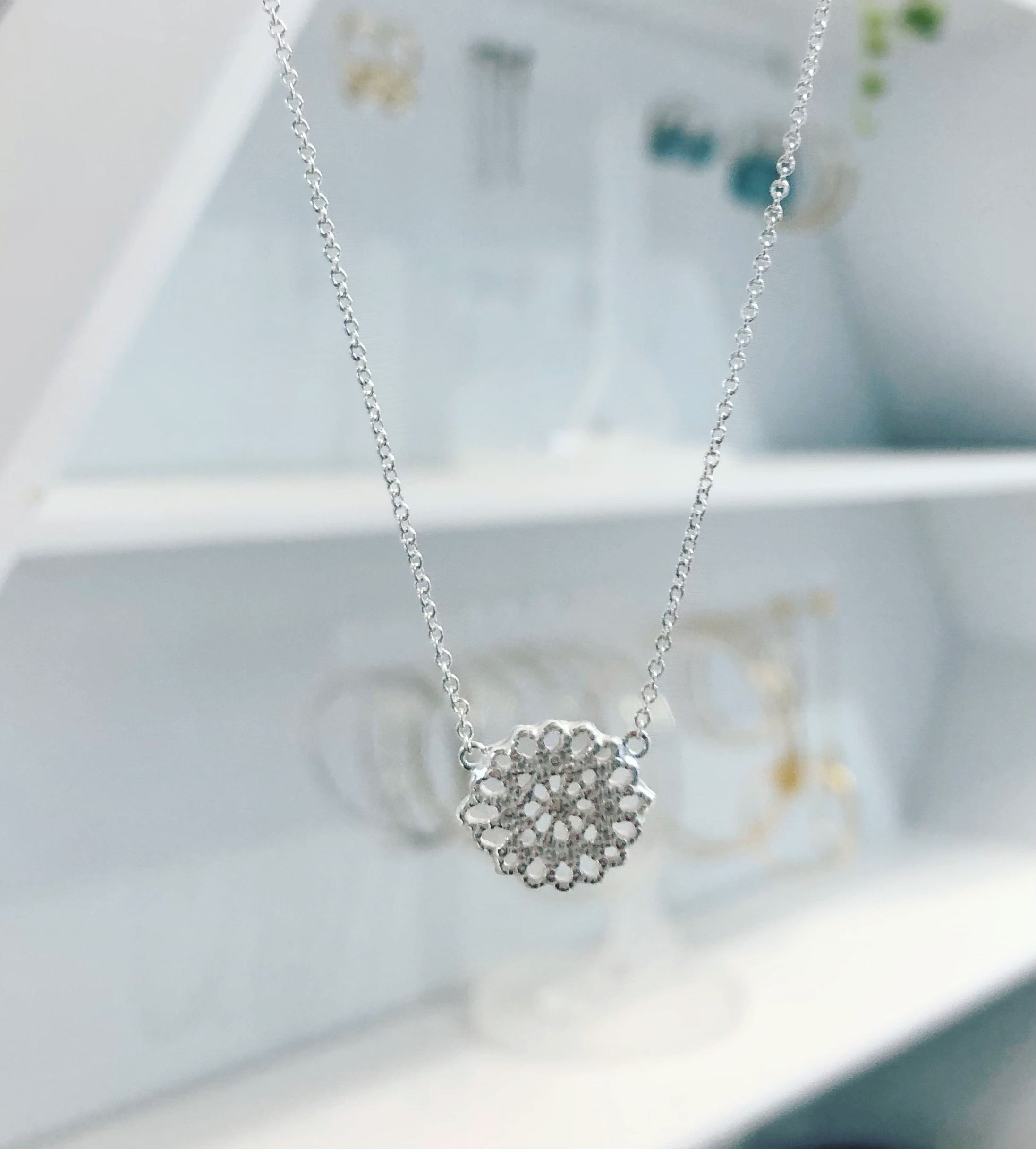 Moon Flower Necklace
