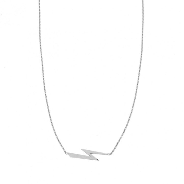 Anna Lightning Bolt Necklace