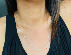 Emmie Oval Necklace