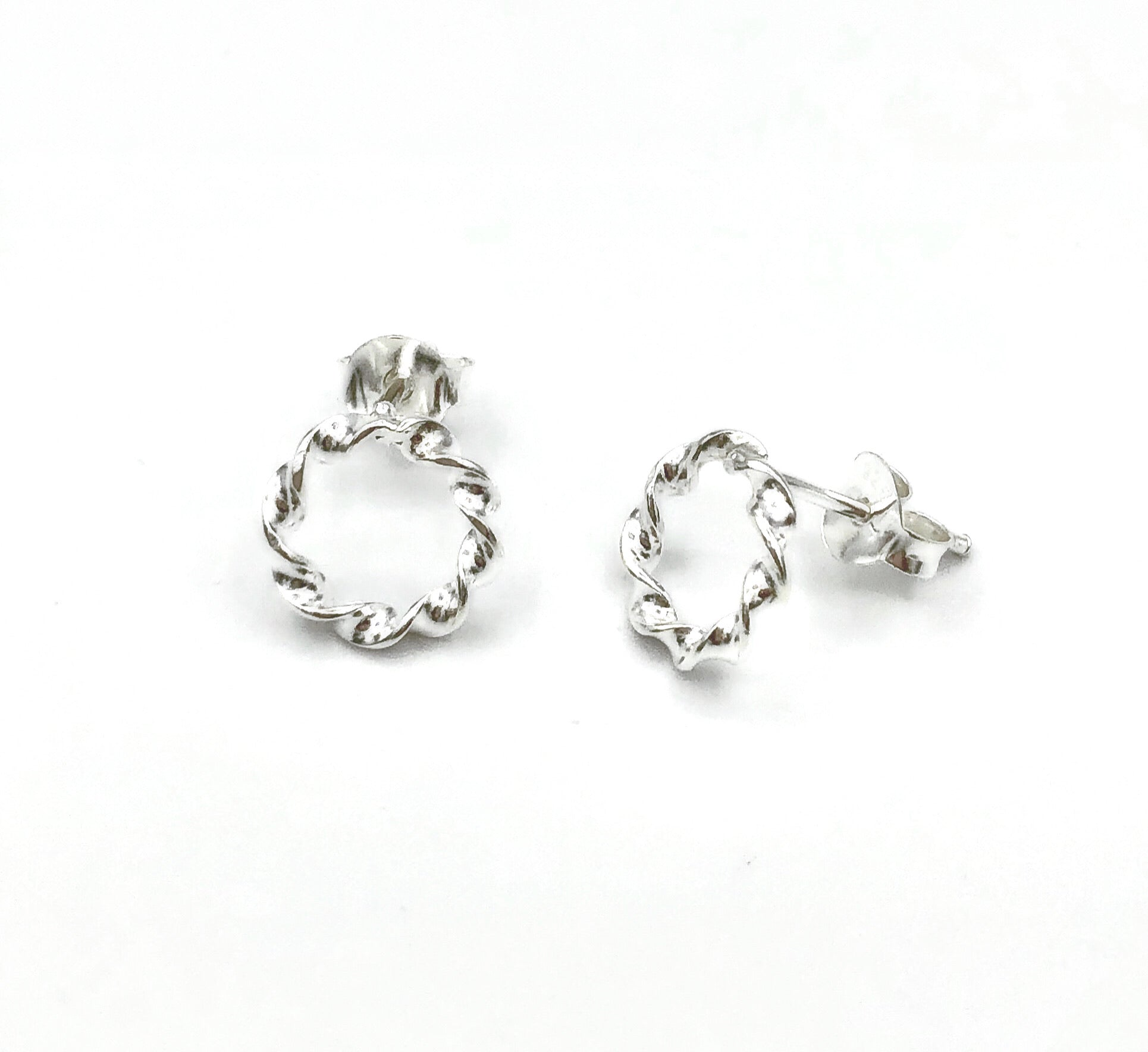 Erica Twisted Stud Earrings