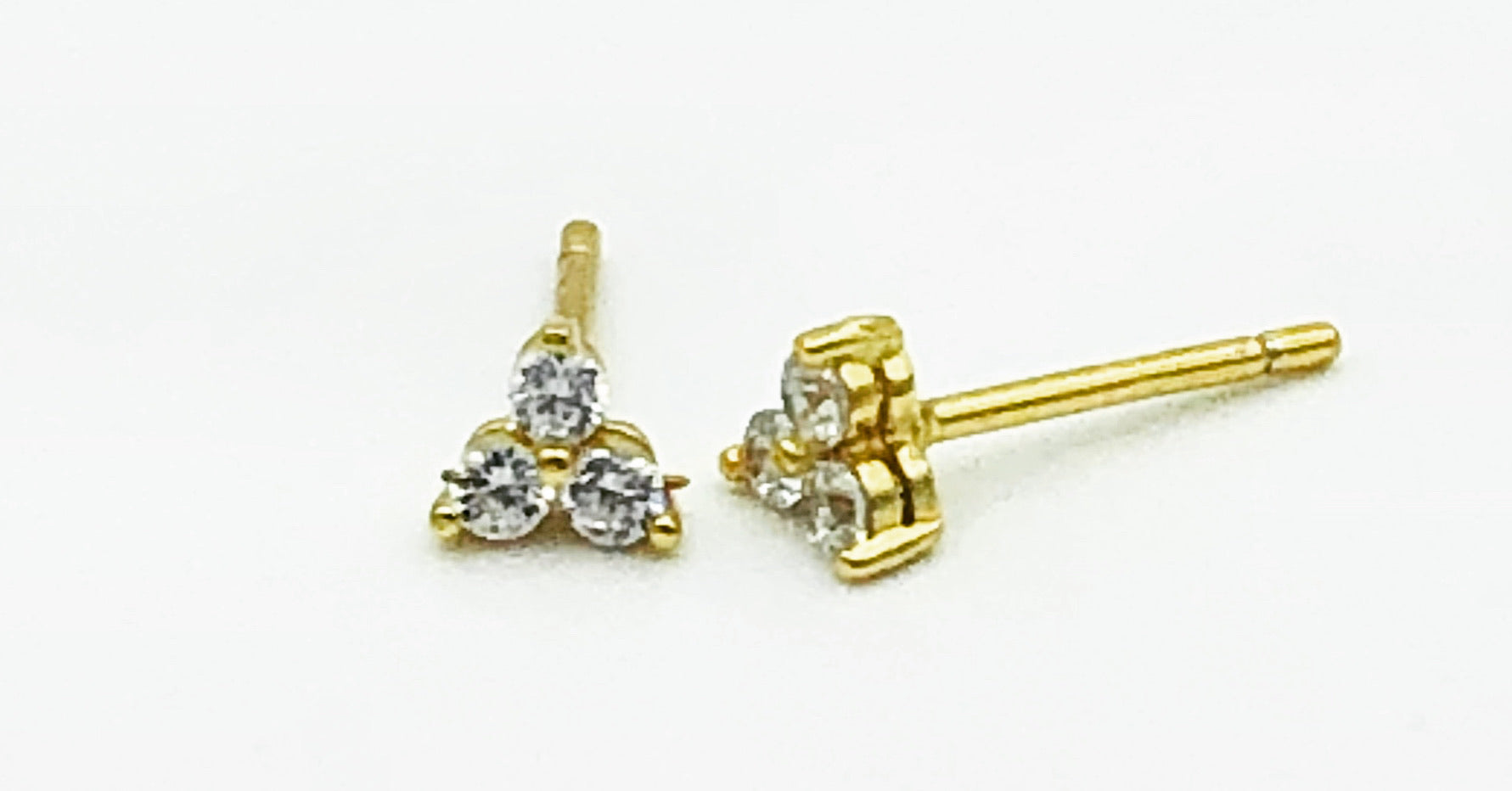 Eileen Trio Stud Earrings