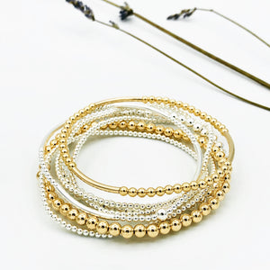 Demi Gold Stretchable Bracelet
