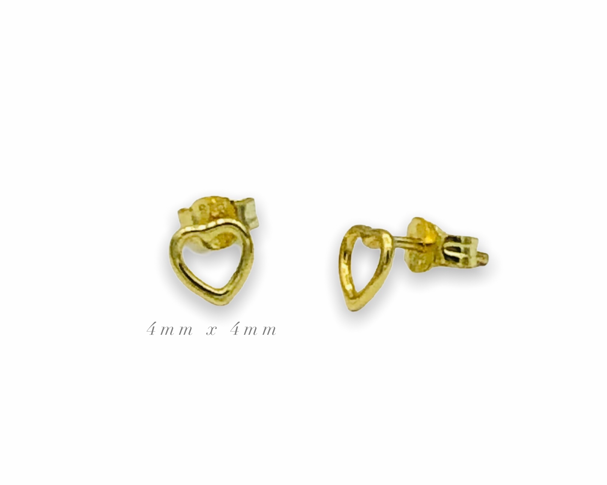 Lara Tiny Heart Earrings