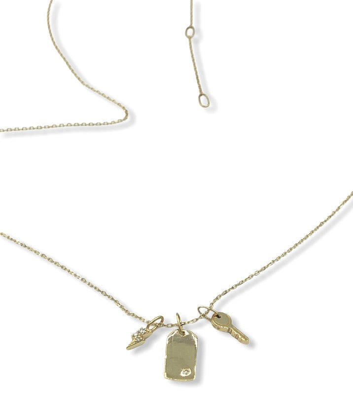 Elle Charmed Necklace