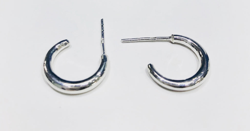Celeste Hoop Stud Earrings