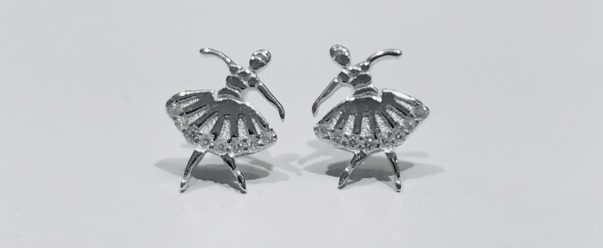 Karen Ballerina Stud Earrings