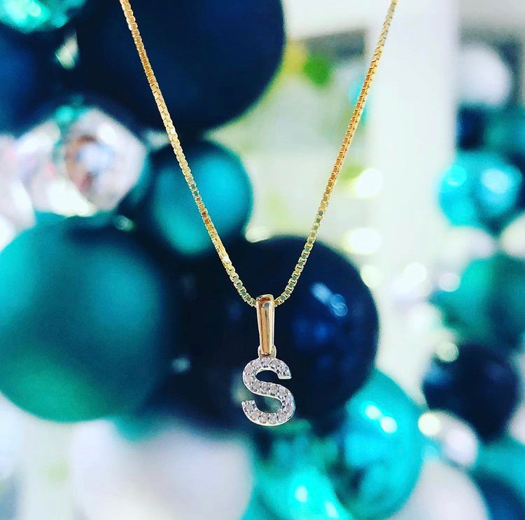 Meghan Initial Necklace