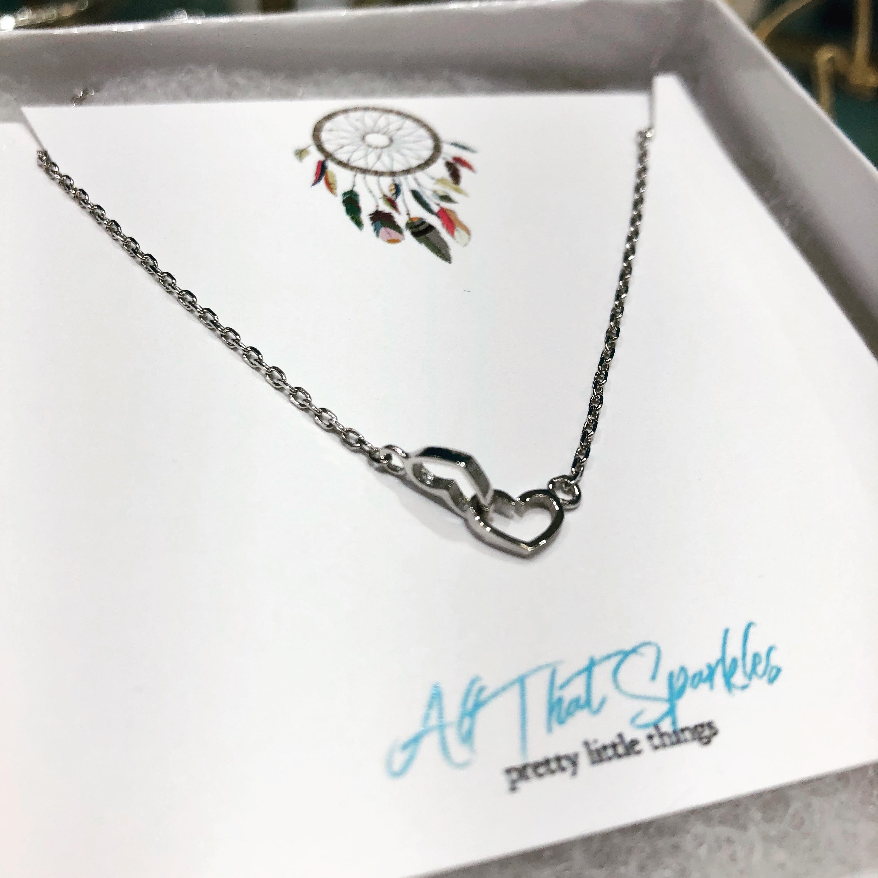 Tori Hearts Necklace
