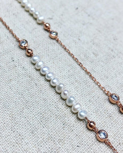 Trinny Pearl Necklace