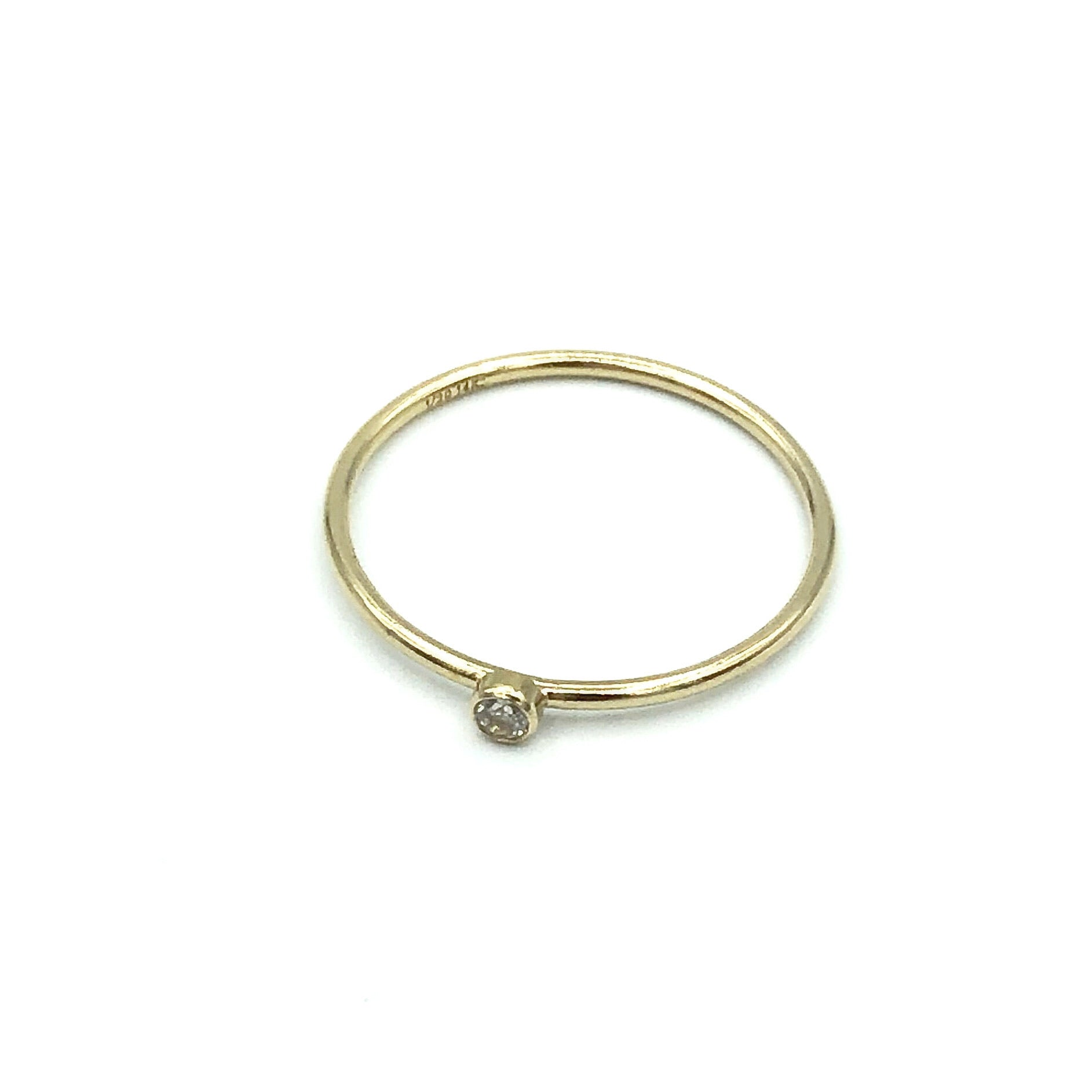Kaia Bezel Ring