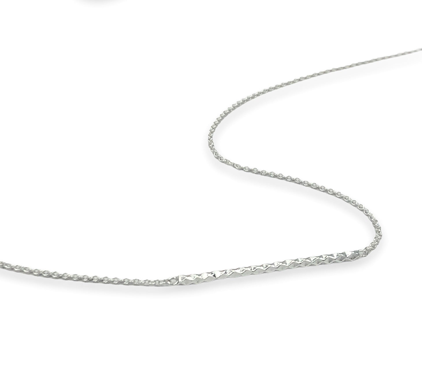 Faceted Bar Necklace