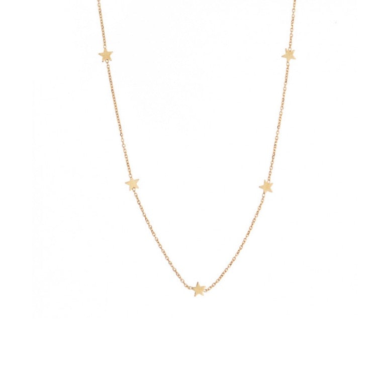Anastasia Multi Star Necklace