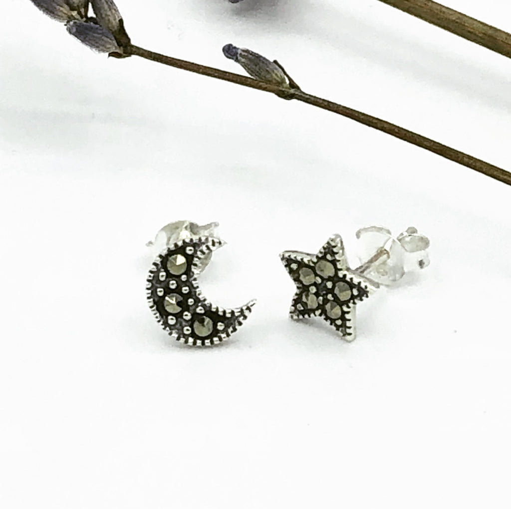 Vivian Moon & Star Earrings
