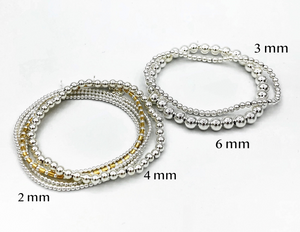 Abigail 4 mm Stretchable Bracelet