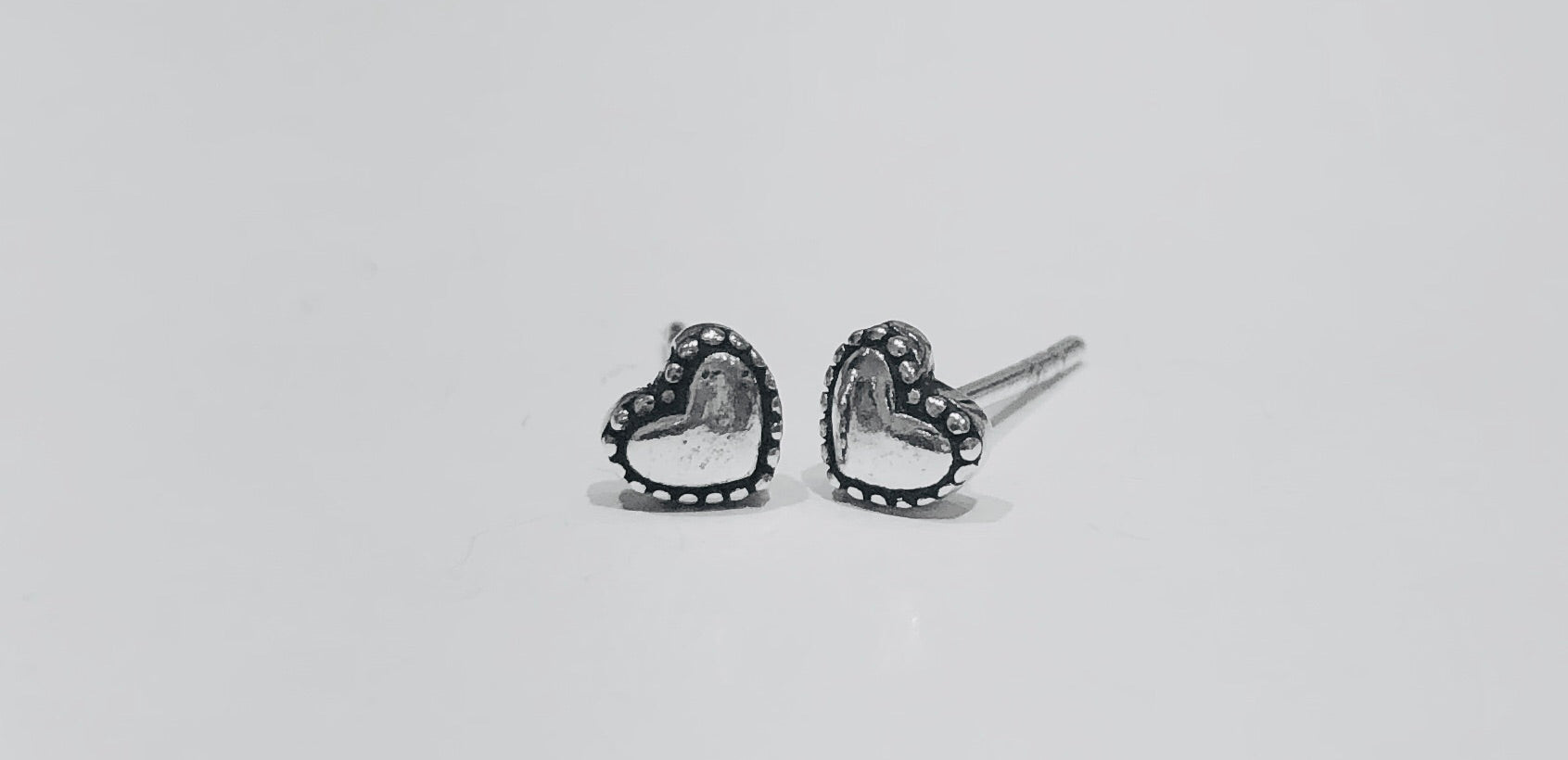 Danica Tiny Heart Stud Earrings