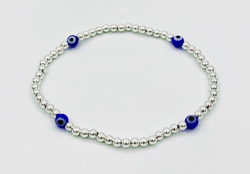 Reese Mini Blue Stretchable Bracelet