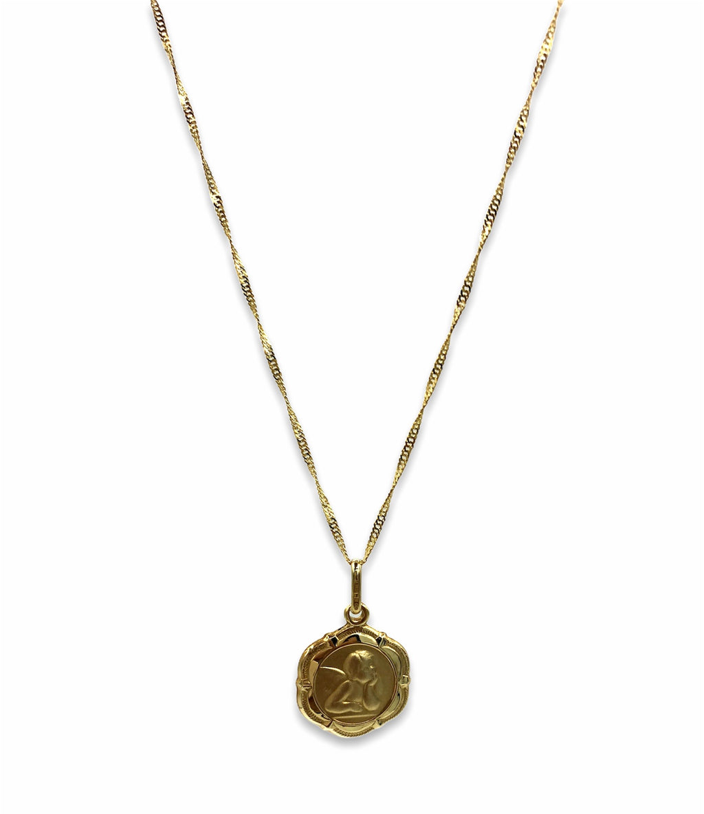 Ava Medallion Necklace