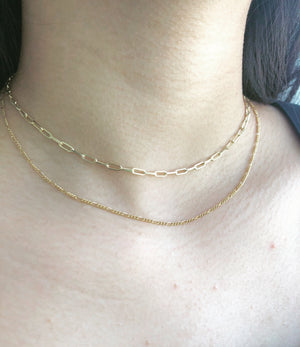 Karyn Paperclip Choker Necklace