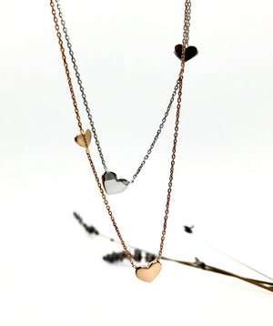 Addison Heart Necklace