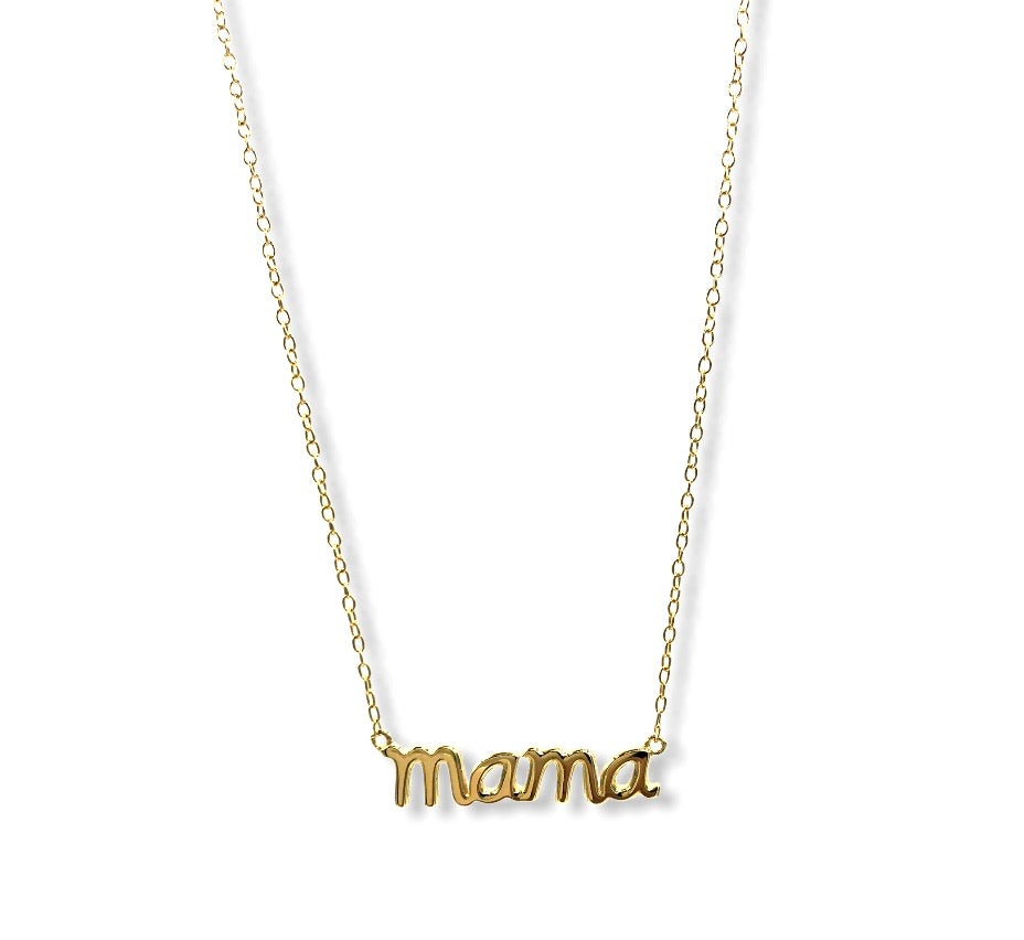 Mama Name Necklace