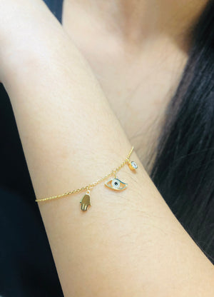 Morgan Evil Eye Bracelet