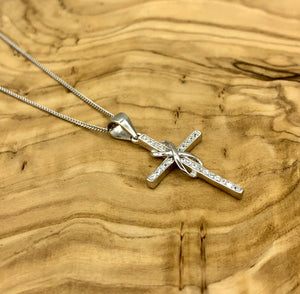 Chloe Cross Infinity Necklace