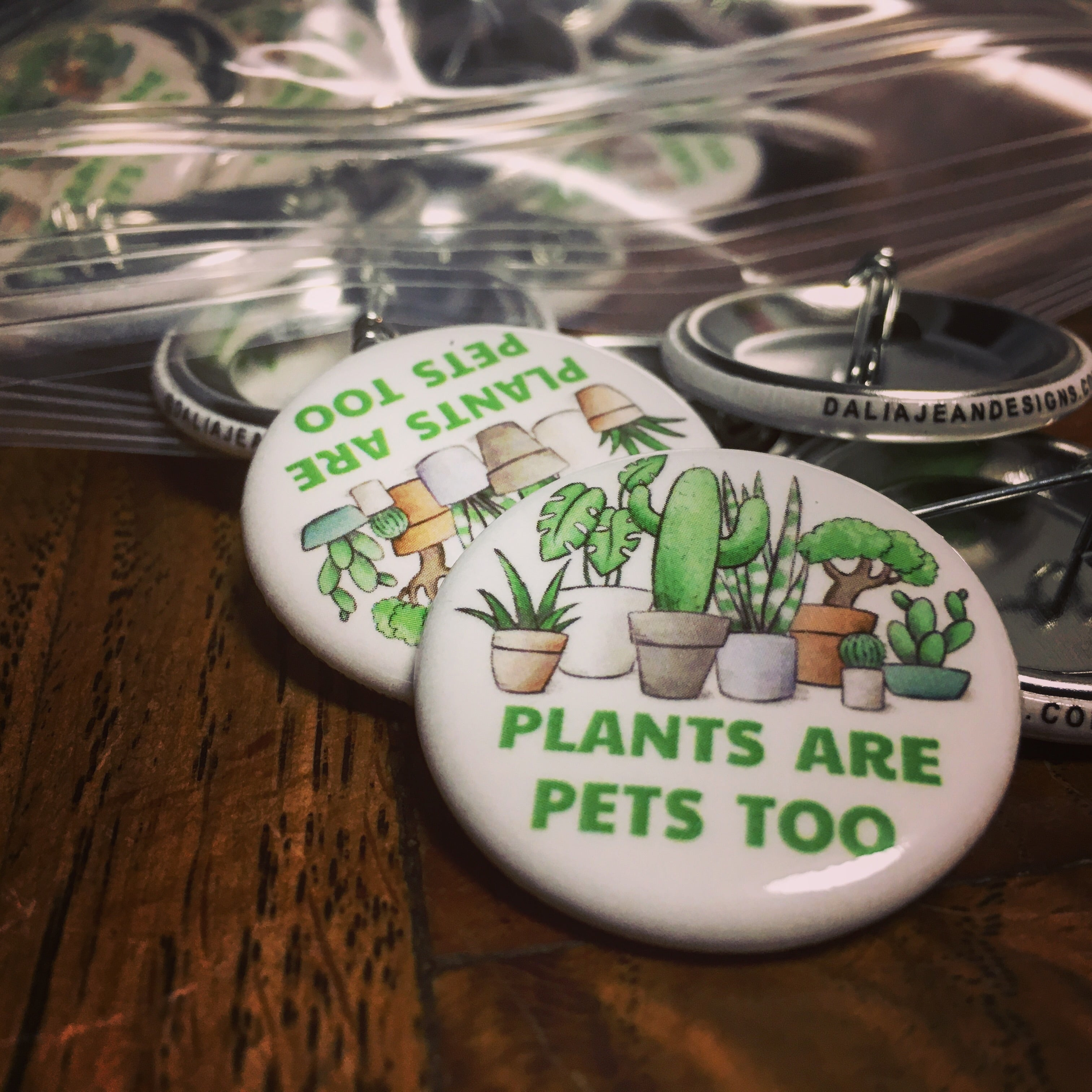 Plants Are Pets Too Pin