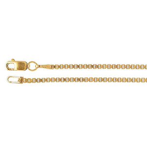 14k Gold-Filled Box Chain