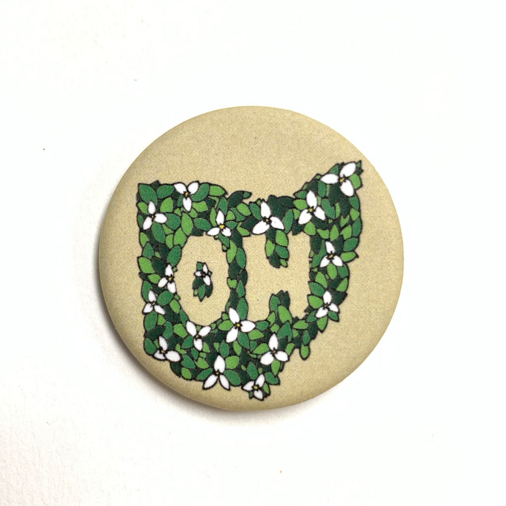 Ohio Wildflower Pin