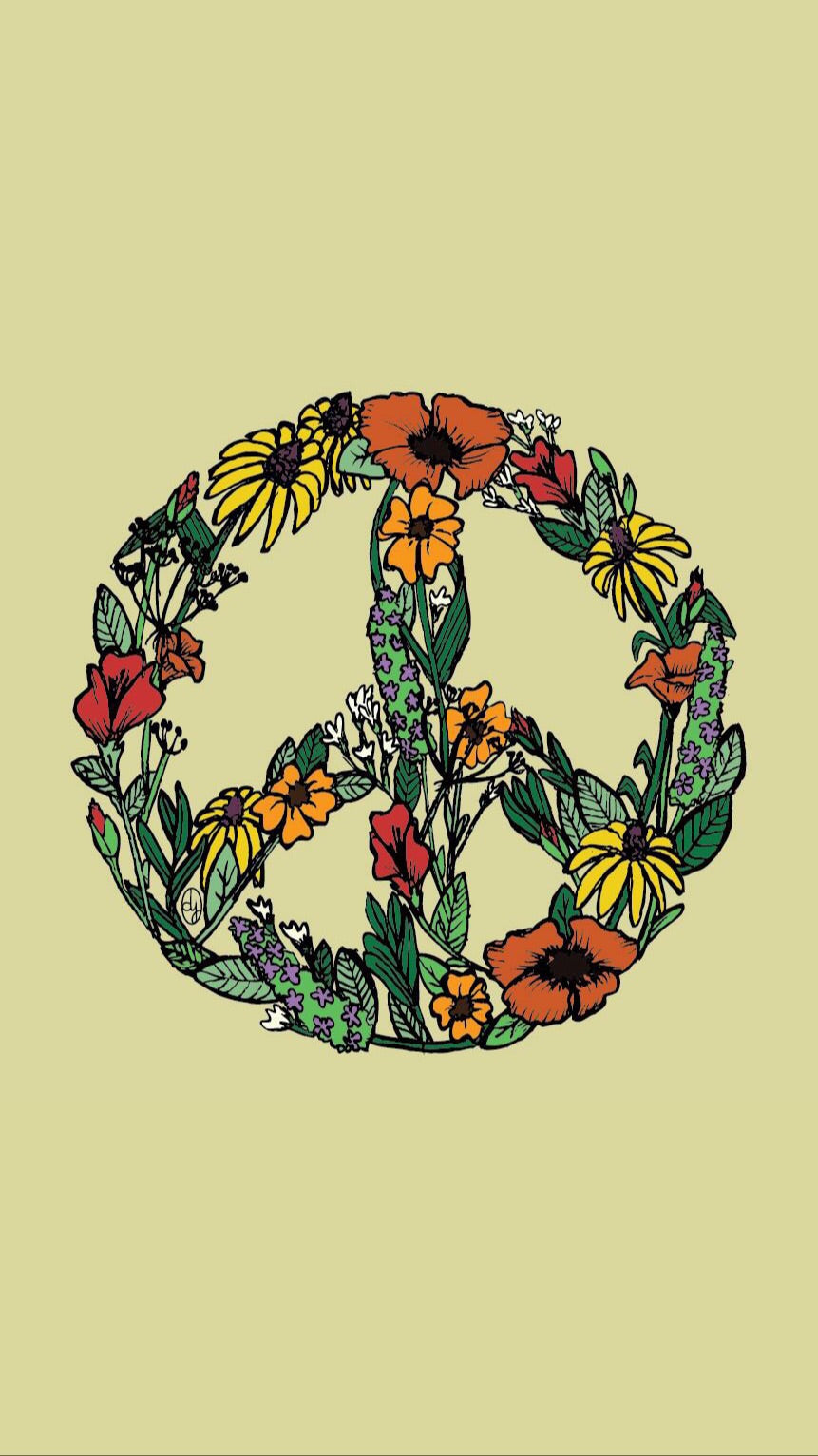 Wildflower Peace Print