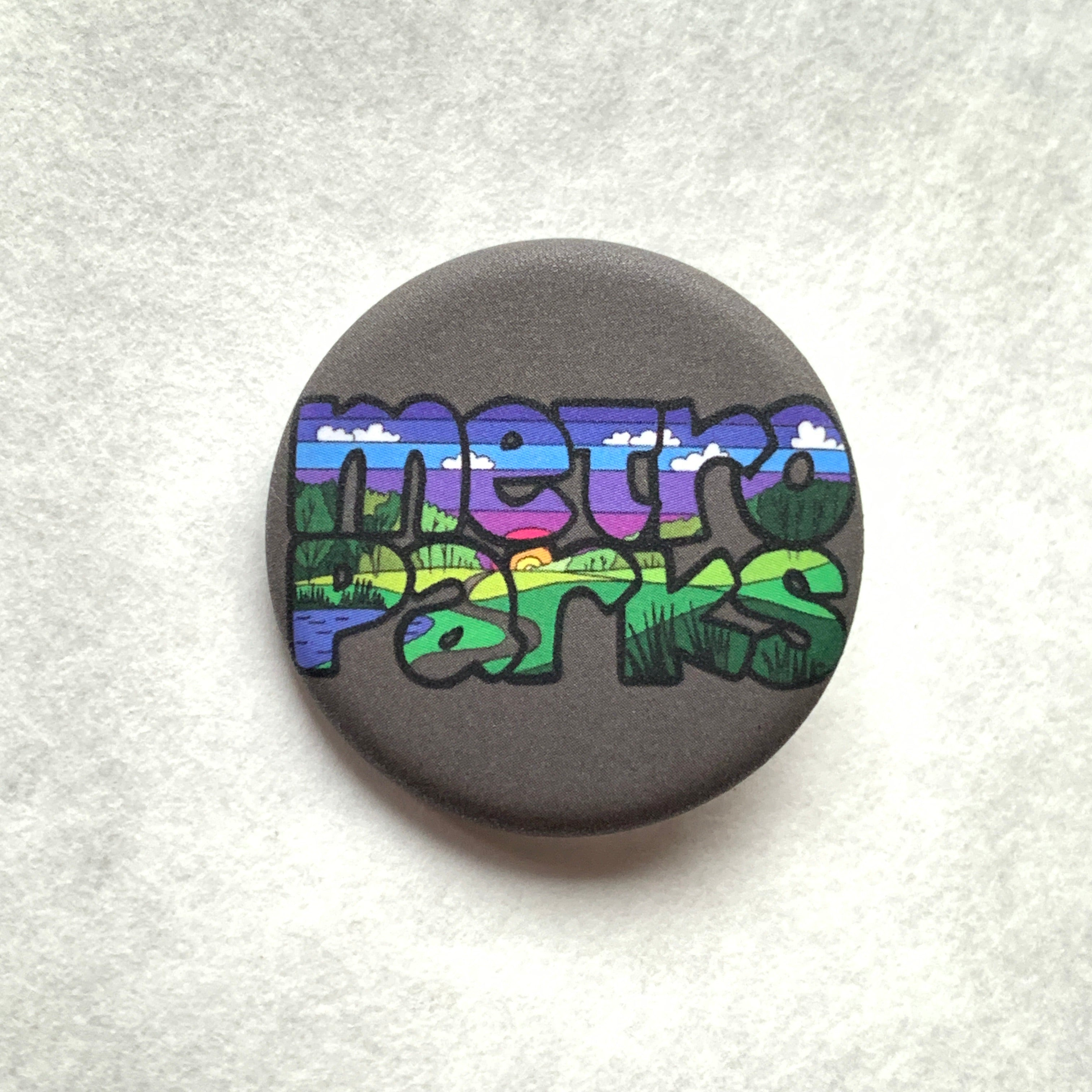 Metroparks Pin