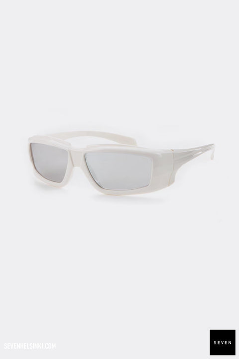 RICK SUNGLASSES - cream/silver