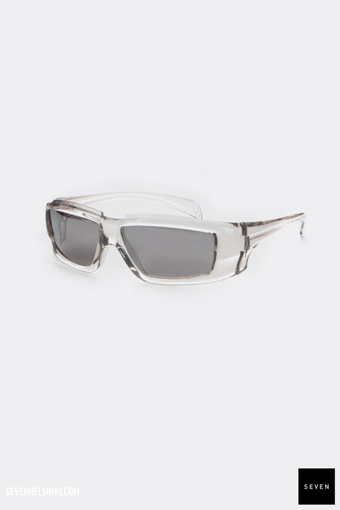 RICK SUNGLASSES - transparent/silver