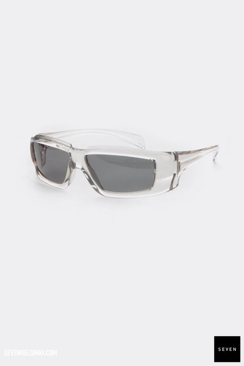 RICK SUNGLASSES - transparent/black