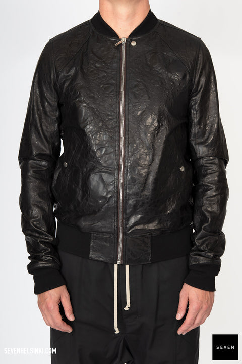 Rick Owens FW20 performa raglan bomber acid leather