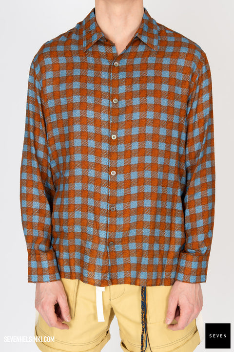 FISHERMAN CHECK SHIRT