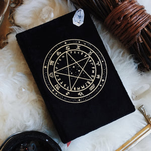 Nyxturna Sigil Spellbook // Notebook *Slightly Imperfect*