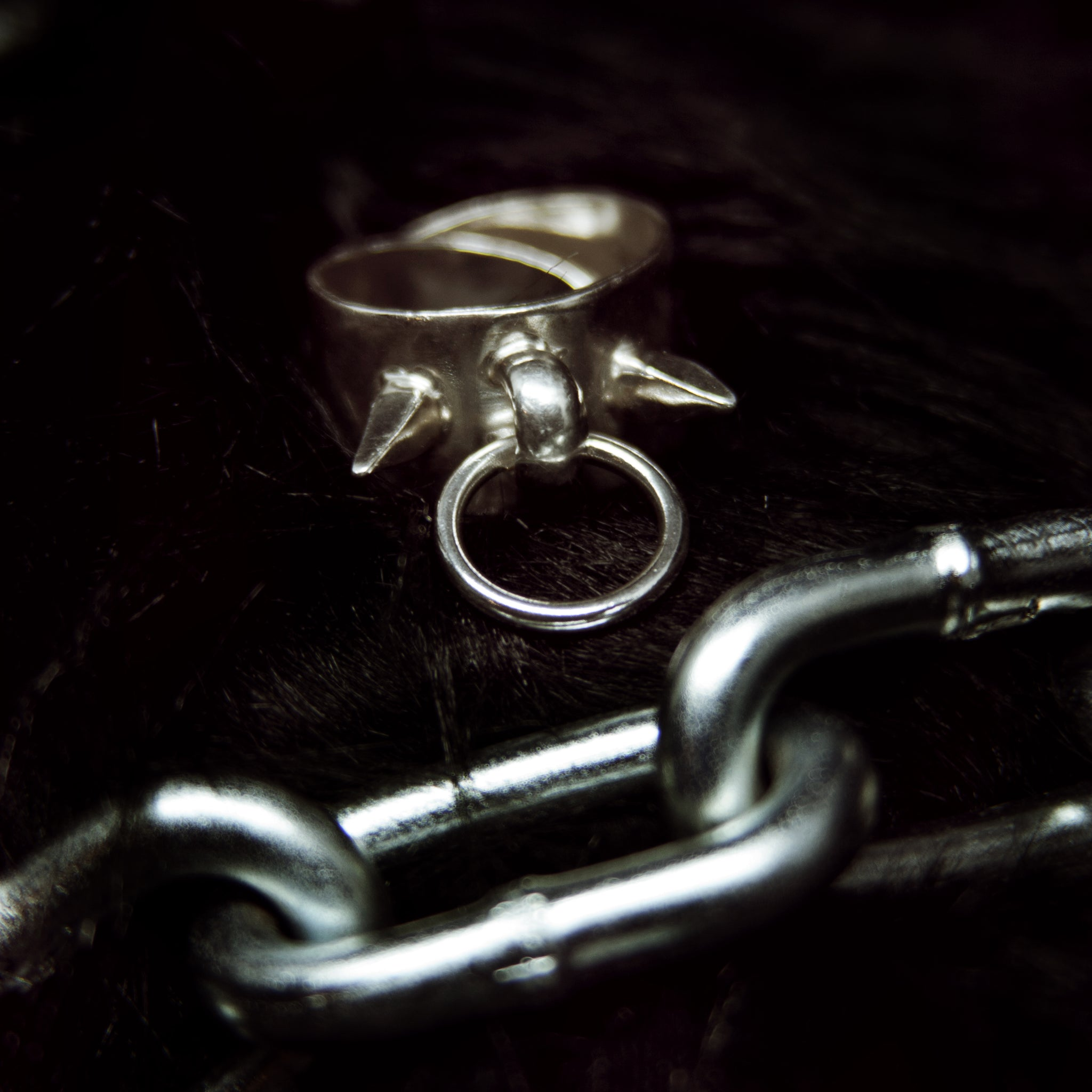 Bound Ring ((Spiked)) *READY TO SHIP*
