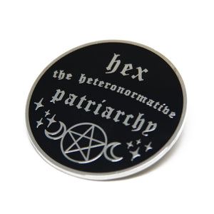 Hex the Patriarchy Pin