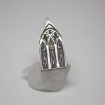 Hallowed Cathedral Ring - Ready To Ship