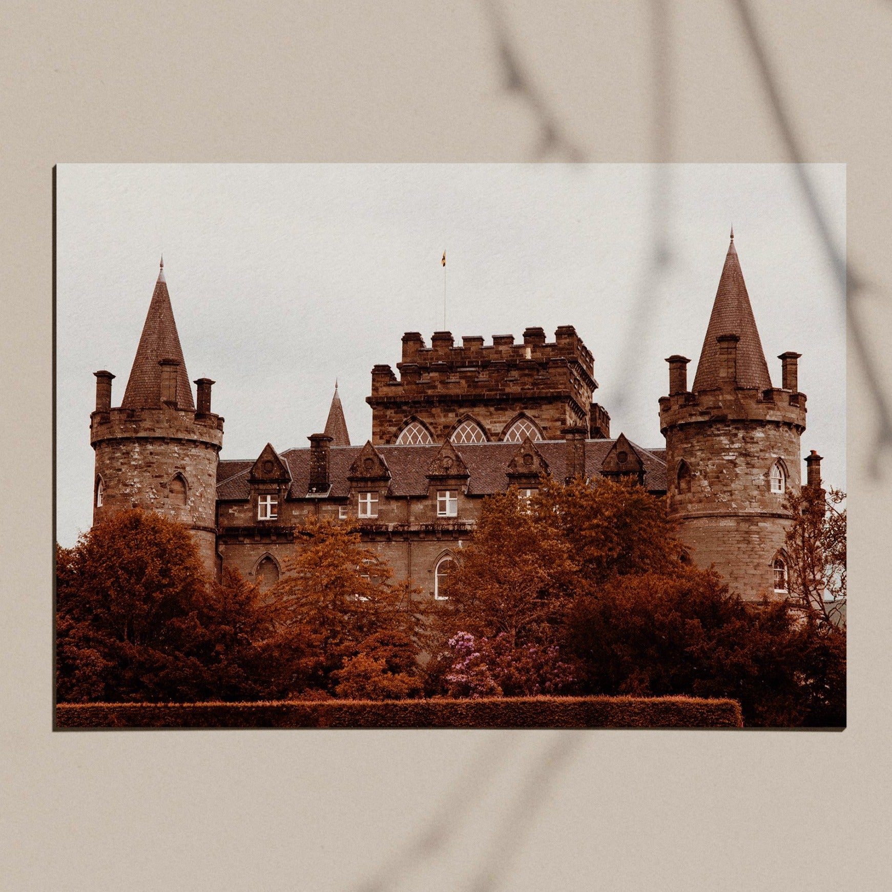 Castle I archival giclee print